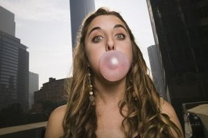 Chewing sugarless gum can alleviate dry mouth.