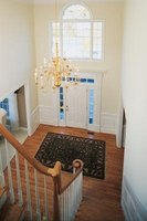 The ideal foyer light corresponds to the room's style and size.