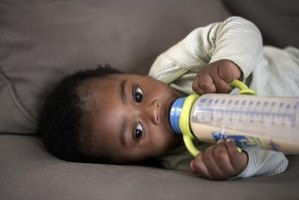 Breast milk can be stored safely in a freezer for at least six months.