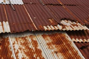 Metal roofing without a galvanize coating fails quickly.