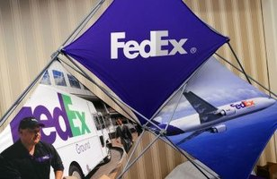 FedEx SmartPost works with the Postal Service to deliver to residential addresses.