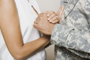 Military life often causes married couples to spend significant time apart.