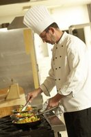 Chefs use a wide range of pots and pans to prepare different foods.