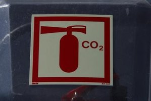 Carbon dioxide fire extinguishers can pose risks to your health.
