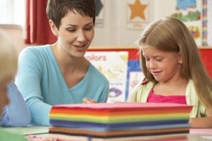 Teachers aides must be able to work well with young students.