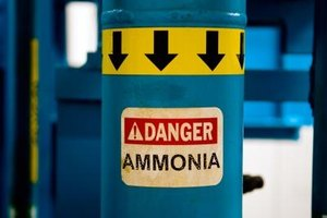 Ammonia is a dangerous chemical.