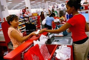 Cashiers are generally viewed as the public face of retail giants such as Target.
