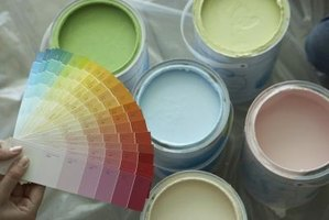 Paint chips or sample cards are available in every color imaginable.