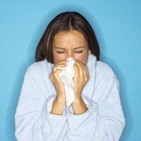 Nasal congestion is one symptom of the common cold.