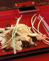 Bamboo shoots are used in a number of Asian dishes.