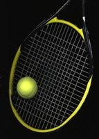 How To Tie A Rubber Band On A Racquet Ehow