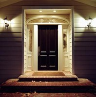 Outdoor lights can add an element of style and character to your home's exterior.