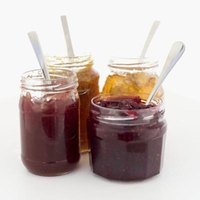 Jam should have an uneven consistency versus that of smooth jelly.