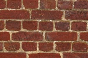 Mortar is used with bricks, stone and concrete blocks.