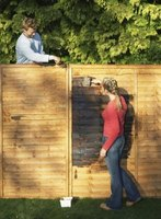 Turn your wood fence installation into a do-it-yourself project.