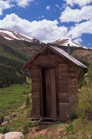While making you laugh, outhouses also make good toolsheds.
