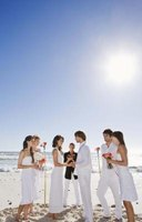 Many states require a fee-based permit to perform a marriage ceremony on the beach.