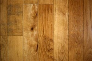 Staggering hardwood floor joints creates a more stable floor.