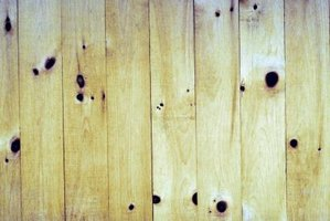 Pine is a soft wood well suited to distressing.