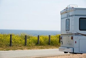 Camper delamination is normally caused by water leaks.