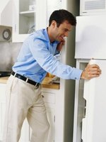 Reset your General Electric refrigerator before calling for repairs.