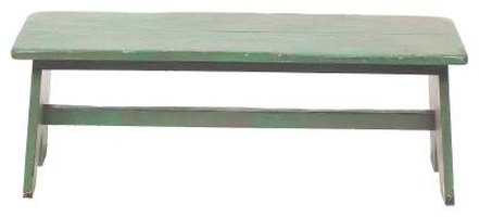 Composite lumber behaves much like natural lumber and can make an attractive bench seat.