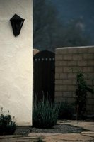 Stucco exteriors are often found in the southwest, where it can withstand the brutal sun.