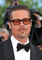 Brad Pitt in a handsome set of specs in Cannes, France.