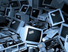 Computers contribute to greenhouse gas emissions and landfill waste from discarded technology.