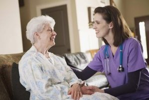 Patient companions care for ill, handicapped and elderly patients.