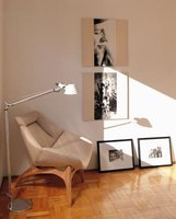 The pictures on your wall create a personal feel.
