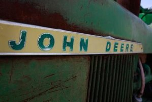 John Deere was a blacksmith, who founded his self-named company in the U.S. in 1837,