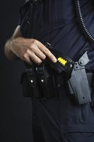 Tasers are electrified stun guns commonly used by law enforcement.