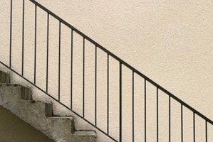 Minnesota building codes require stair railings to be a specific height for safety purposes.