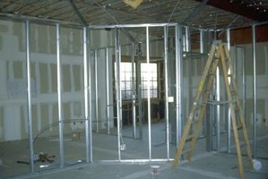 The Types Of Metal Stud Walls Ehow