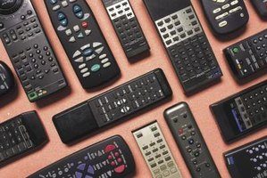 Universal remotes condense the function of multiple remote controls into one.