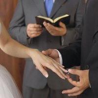 Many states now recognize wedding ceremonies performed by online ordained ministers.