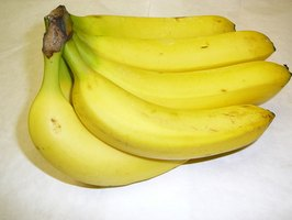 Bananas can be used to increase potassium levels.
