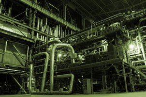 Combustion efficiency for power boilers is continually monitored.