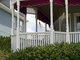 Add screens or an awning to protect your porch.