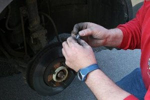Install Guide for Rear Brakes on a Ford Freestar