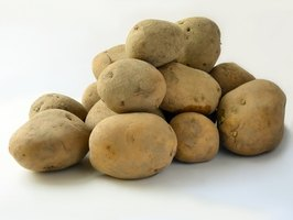 Biodegradable plastic can be made from potato starch.