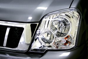 Clean your car's headlights to a crystal clear shine with toothpaste.