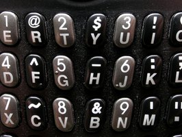 Some cell phones have QWERTY keyboards.