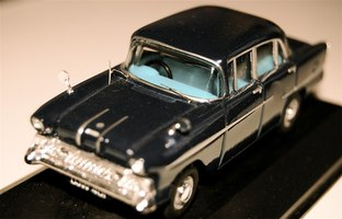 The hours spent in building a model car can result in a model worth displaying.
