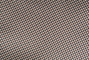 A swatch of houndstooth fabric.