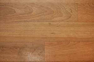 High density fiberboard is often the choice over wood