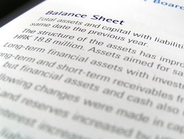 Use the company's balance sheet to determine the value of shares