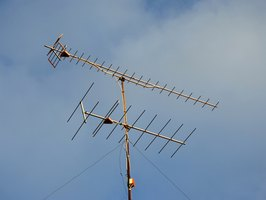 The Yagi antenna is a model designed to give high signal strength and remain durable against the elements.