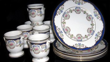 Reglazing techniques can turn any dinnerware, including Canonsburg, into instant antiques.